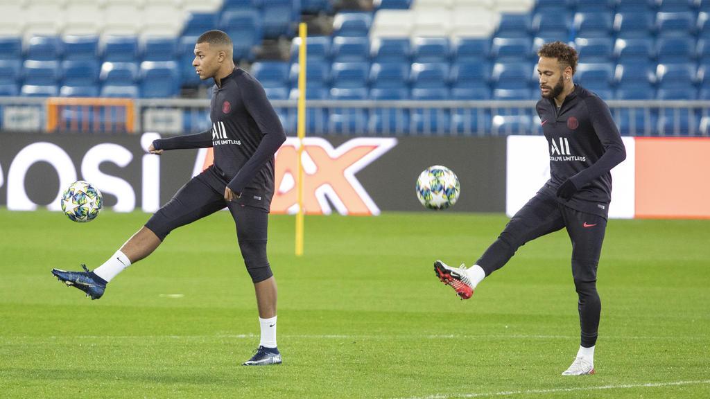 Die PSG-Stars testen gegen Le Havre