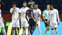 Die Partie zwischen PSG und Olympique Lyon wurde zum Hass-Gipfel