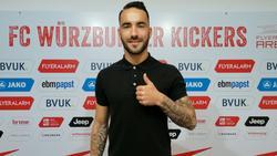 Verstärkt die Würzburger Kickers: Mitja Lotric
