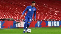 Der zuletzt formschwache BVB-Star Jadon Sancho hat im Nationalteam Selbstvertrauen gesammelt