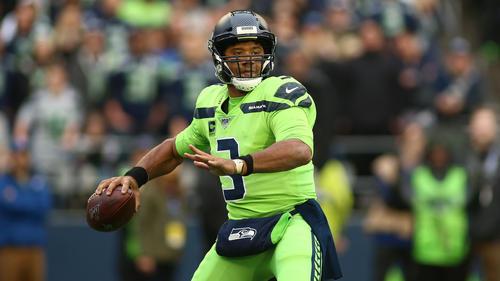 NFL-Star Russell Wilson führte die Seattle Seahawks zum Sieg