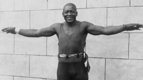 Jack Johnson wurde 1908 der erste schwarze Box-Weltmeister