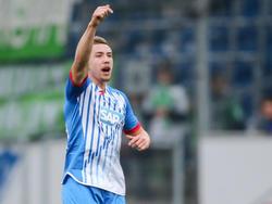 Russel Canouse machte bisher ein Bundesligaspiel