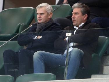 Jacek Magiera (links im Bild) wird neuer Trainer bei Legia