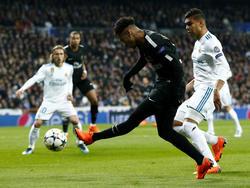 Neymar volvió al Bernabéu con el PSG. (Foto: Getty)