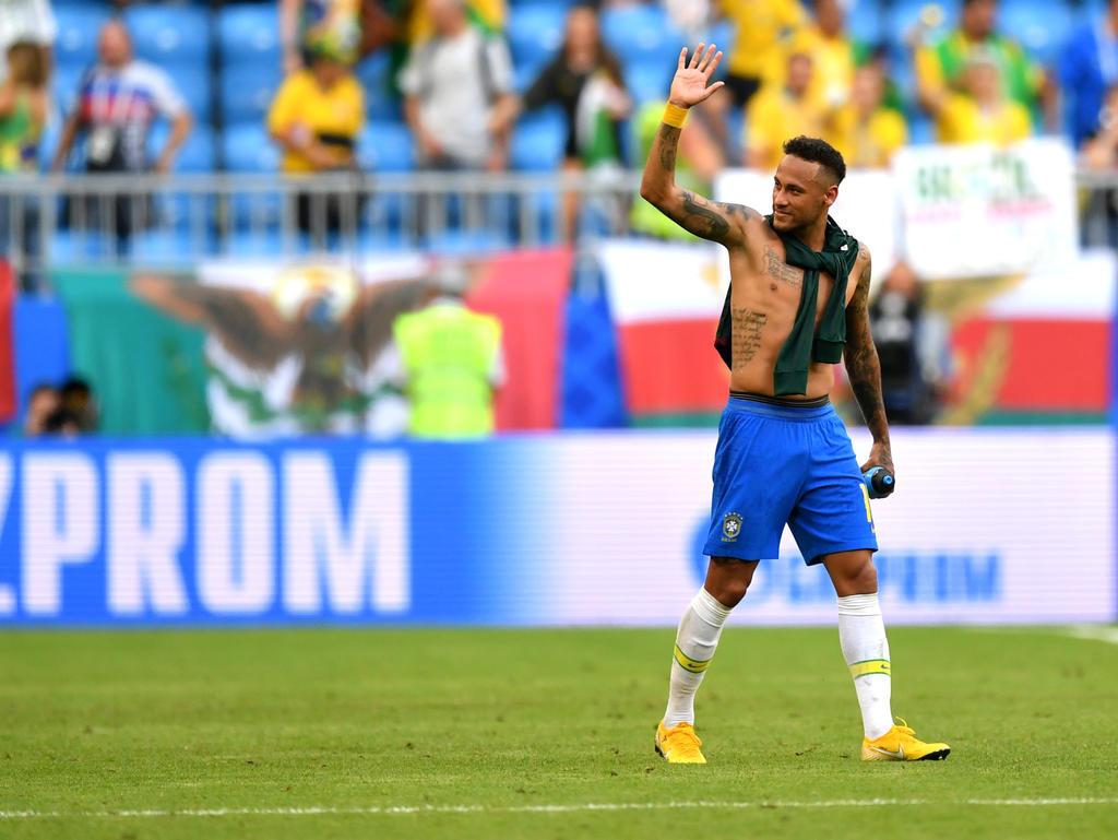 Neymar hat auf die Kritik von Mexiko-Coach Osorio regaiert