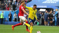 Der Schwager von Dirk Nowitzki spielt in der schwedischen Nationalmannschaft: Martin Olsson