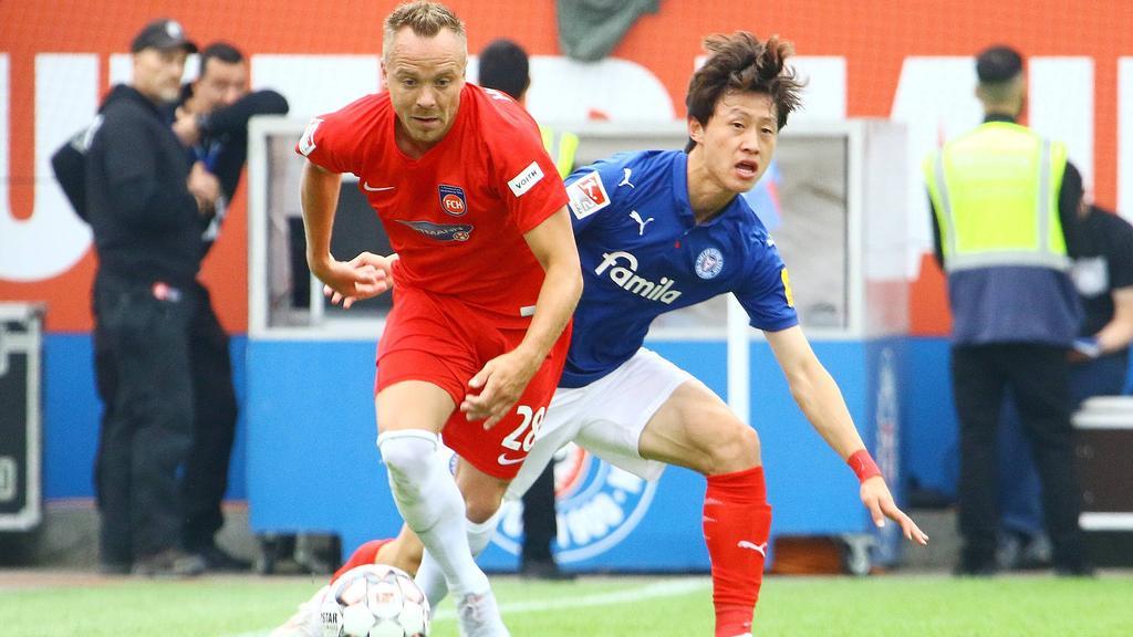 Holstein Kiel spielt nur unentschieden gegen den 1. FC Heidenheim