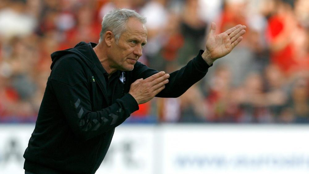 Streich steht gegen Stuttgart wieder an der Seitenlinie