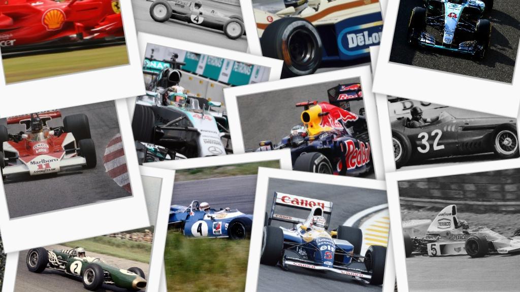 Welches ist das geilste Formel-1-Auto aller Zeiten?