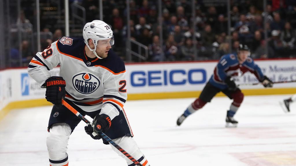Leon Draisaitl überzeugte beim Sieg der Edmonton Oilers