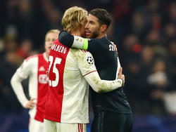 Sergio Ramos freute sich nicht nur über den Sieg