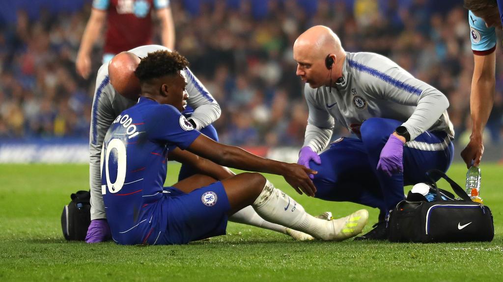 Callum Hudson-Odoi hat sich im Spiel gegen Burnley schwer verletzt