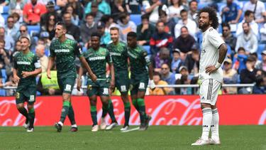 Marcelo vivió con el Madrid una temporada para olvidar. (Foto: Getty)