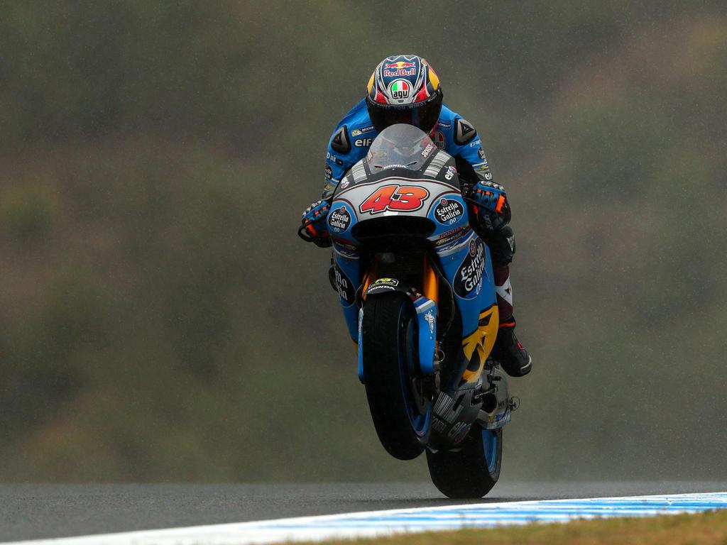 Miller glänzt im Regen von Le Mans
