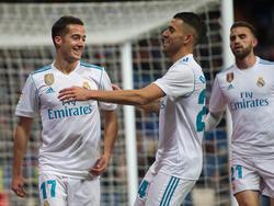 Lucas Vázquez salvó el honor del Madrid ante el Numancia de Segunda. (Foto: Getty)