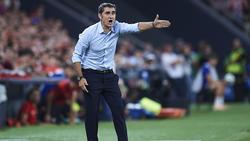 Valverde no encuentra explicación a lo ocurrido en Valencia.