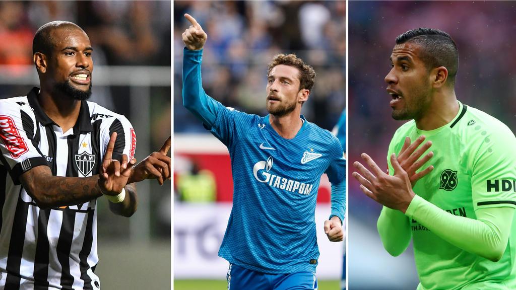 Einst bei BVB, HSV und FC Bayern: Diese Profis sind (noch) vertragslos