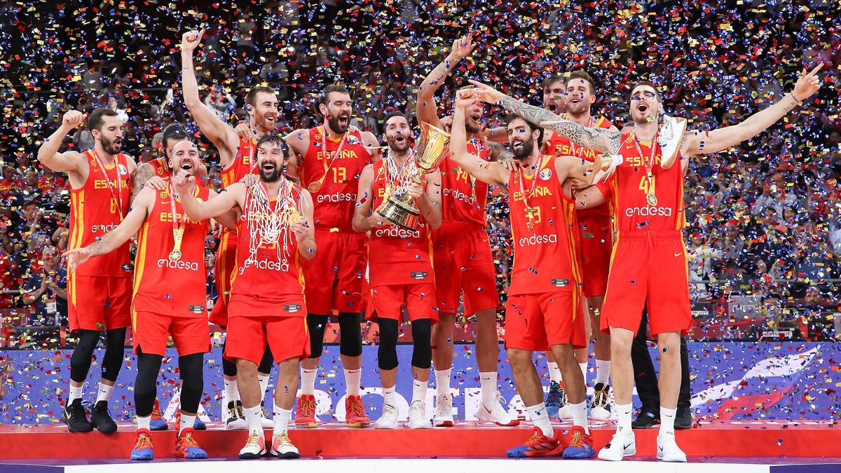 Spanien jubelt über die gewonnen Weltmeisterschaft