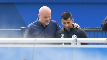 Der Vertrag von Trainer Dimitrios Grammozis beim FC Schalke 04 läuft bis zum Ende der Saison