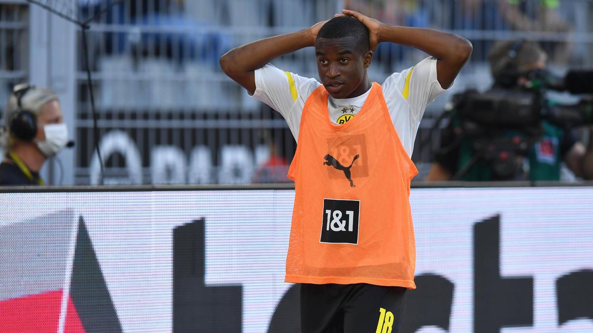Youssoufa Moukoko sorgt im Trikot des BVB und der bei der U21 des DFB für Rekorde