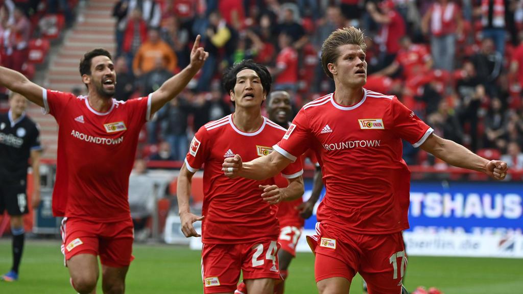 Bundesliga: Auf den Schock folgt die Freude bei Union Berlin