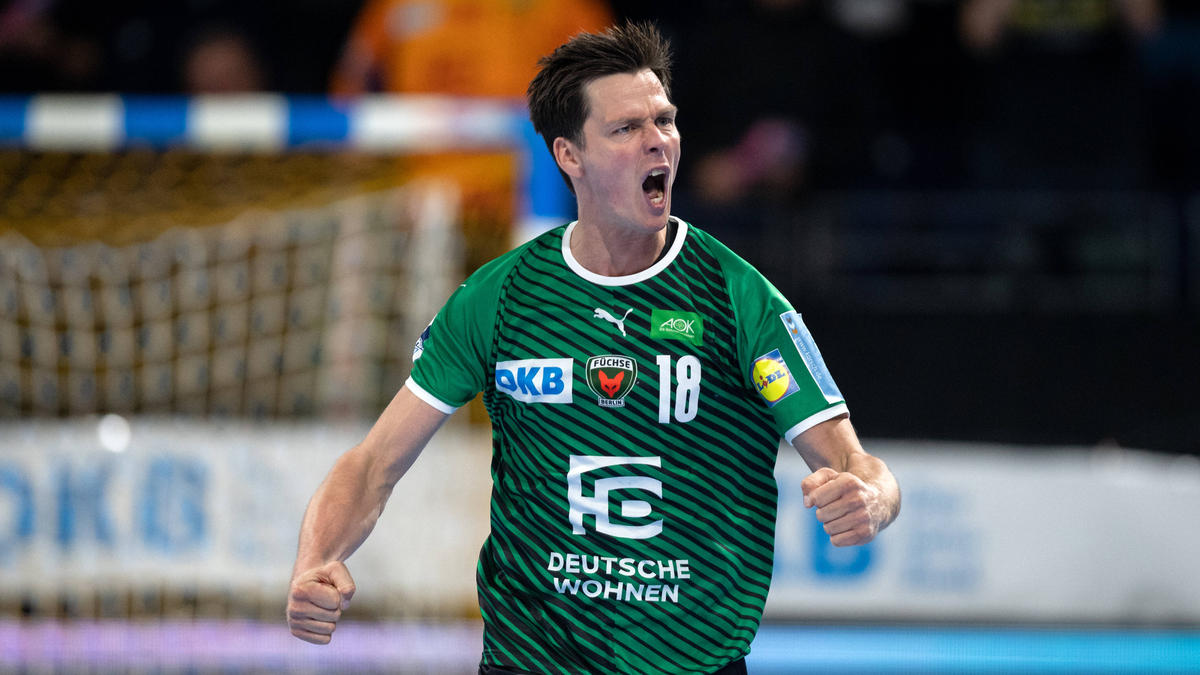 Die Füchse Berlin gewannen gegen Hannover-Burgdorf
