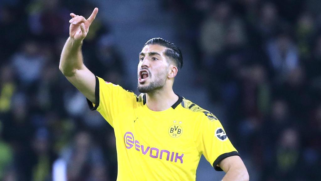 Emre Can steht vor seinem Heim-Debüt für den BVB