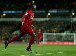 Für Sadio Mané war es das 12. Premier-League-Tor der Saison