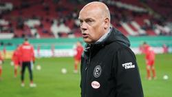 Glaubt an den Klassenerhalt von Fortuna Düsseldorf: Trainer Uwe Rösler
