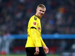 Haaland se ha adaptado rápido a la Bundesliga.