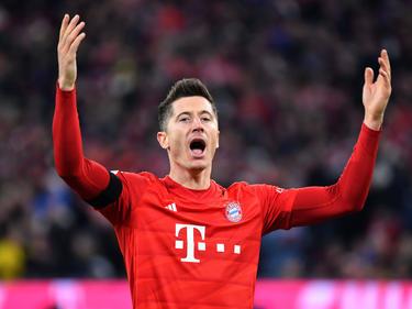 El polaco acudió fiel a su cita con el gol.