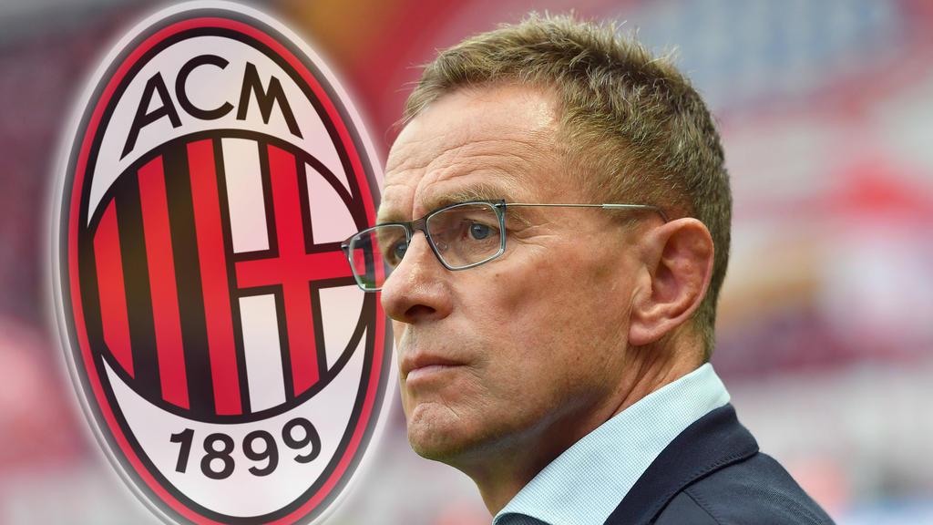 Ralf Rangnick steht beim AC Mailand hoch im Kurs