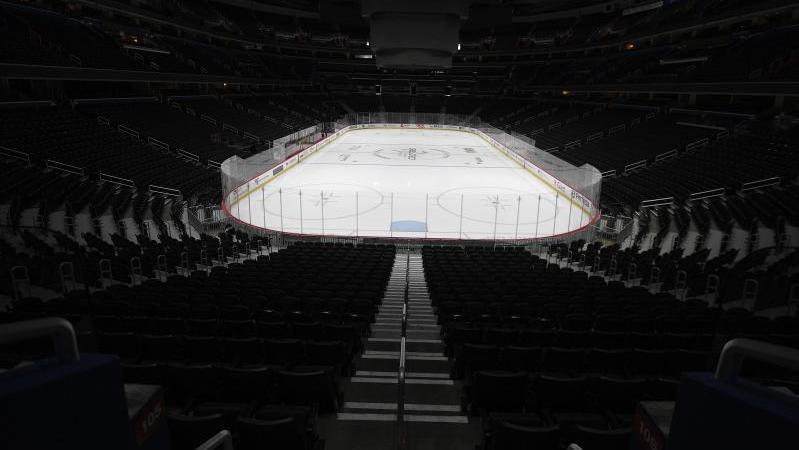 Die Eishockeyhallen in den USA bleiben weiter geschlossen