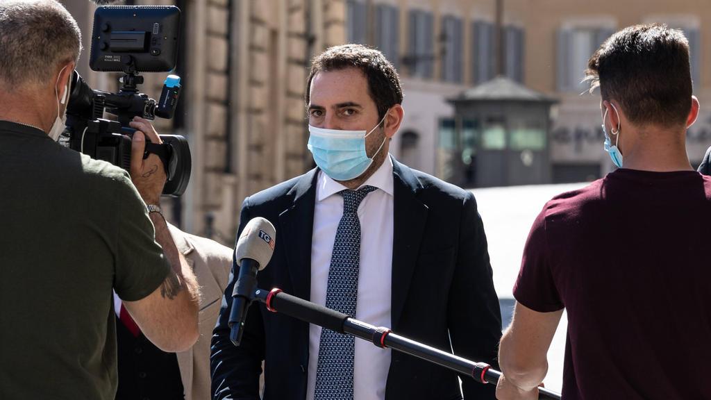 Vincenzo Spadafora ist der Sportminister von Italien