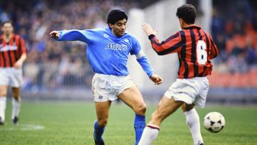 Einst beim SSC Neapel erfolgreich: Diego Maradona
