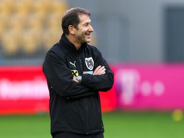 Teamchef Franco Foda freut's, dass es beim Ex-Klub so gut läuft