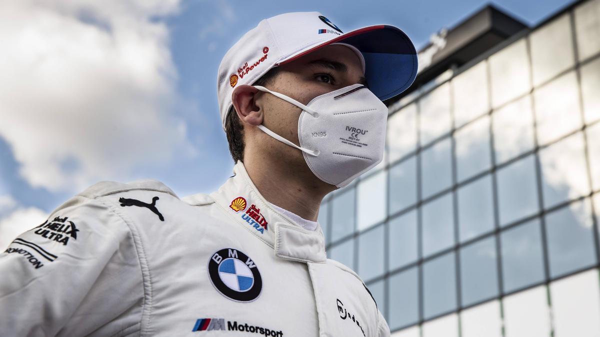 Sheldon van der Linde tauscht seinen BMW M4 gegen einen M6 GT3 ein
