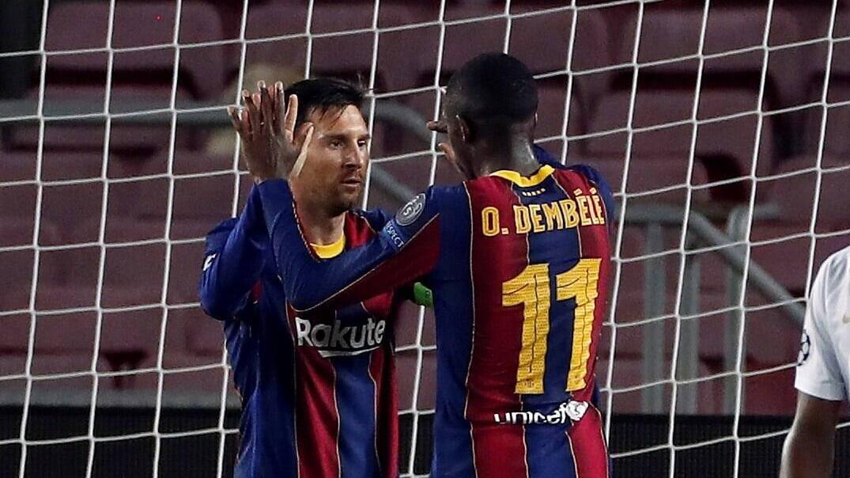 Messi und Dembélé trafen für Barca