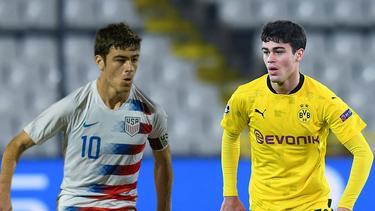 Giovanni Reyna pendelt zwischen der US-Auswahl und dem BVB