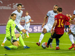 Neuer hizo todo lo que pudo para evitar la goleada.