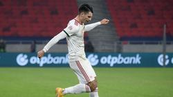 Dominik Szoboszlai verhilft seiner Mannschaft zum Sieg