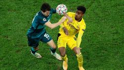 Ansgar Knauff gab gegen Zenit St. Petersburg sein Debüt für den BVB