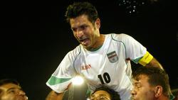 Ali Daei ist seit 15 Jahren Länderspiel-Rekordtorschütze