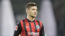 Luka Jovic kann mit dem Druck bei Eintracht Frankfurt gut umgehen