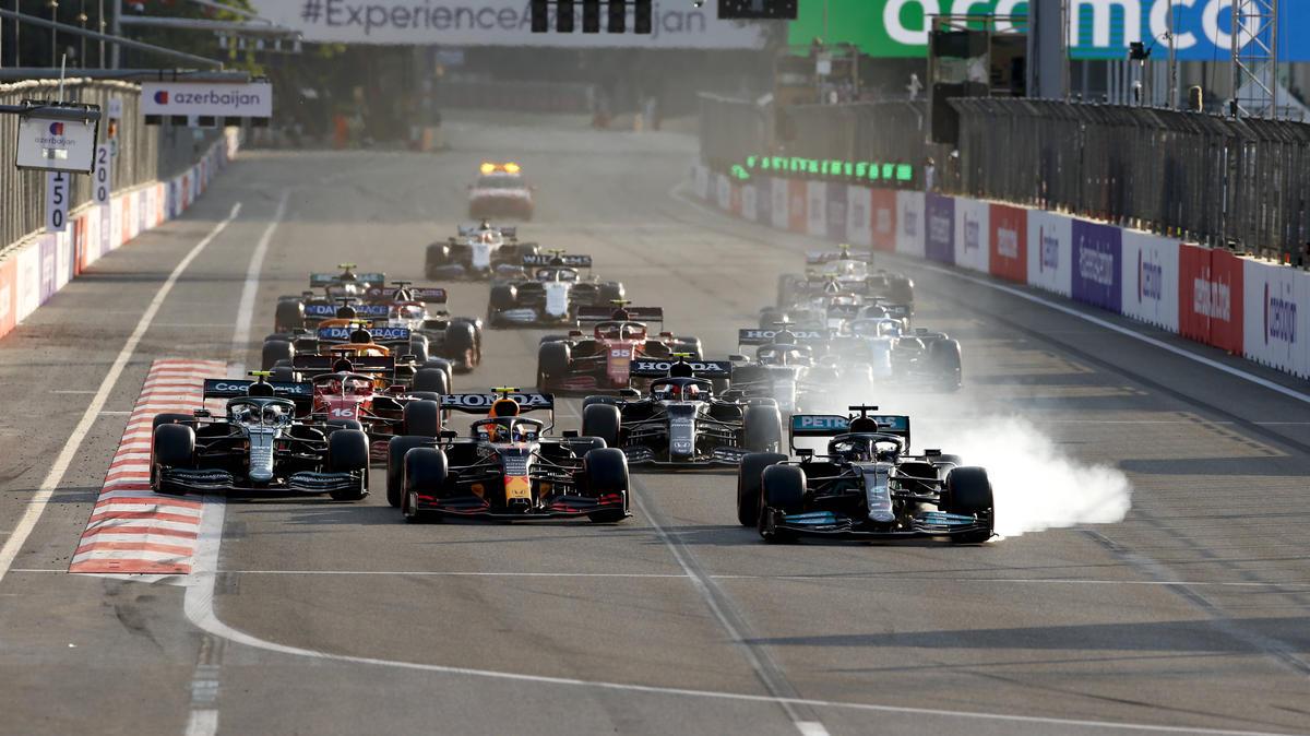 Lewis Hamilton leistete sich in Baku einen folgenschweren Fehler
