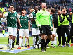 El Hibernian se proclama campeón de la FA Cup escocesa. (Foto: Getty)