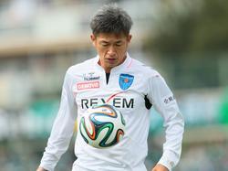 Den Ball immer noch fest im Blick: der 48-jährige Kazuyoshi Miura