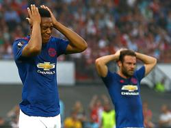Manchester United verlor in Rotterdam