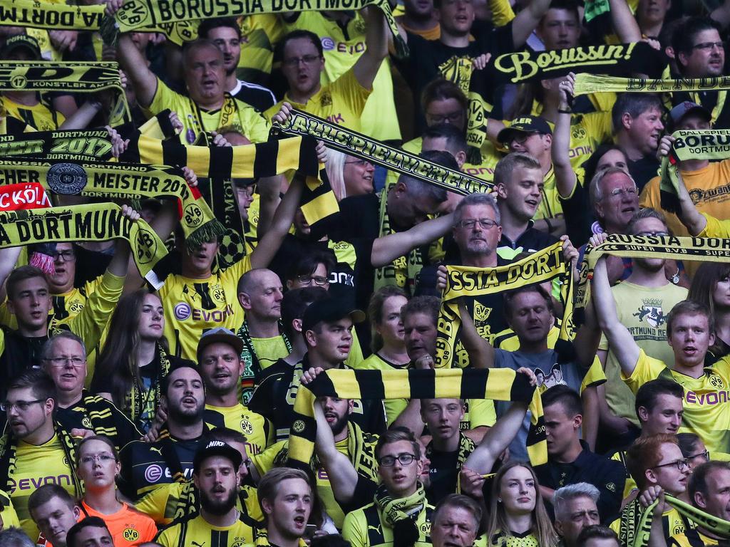 Die Dortmund-Anhänger haben sich in der Vergangenheit nicht immer einwandfrei verhalten